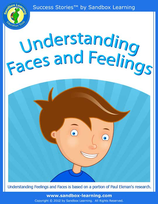 understanding faces and feelings - Printable Books For Kids